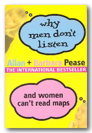 Allan & Barbara Pease - Why Men Don't Listen & Women Can't Read Maps (2nd Hand Paperback) | Campsie Books