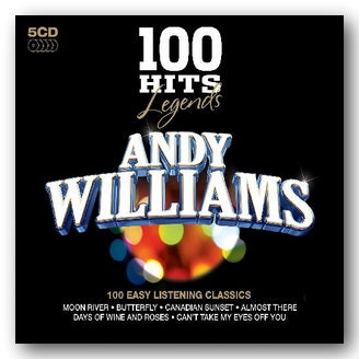 Andy Williams - Legends (100 Hits) (2nd Hand 5 Disc CD Set) | Campsie Books