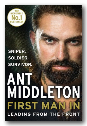 Ant Middleton - First Man In (2nd Hand Hardback) | Campsie Books