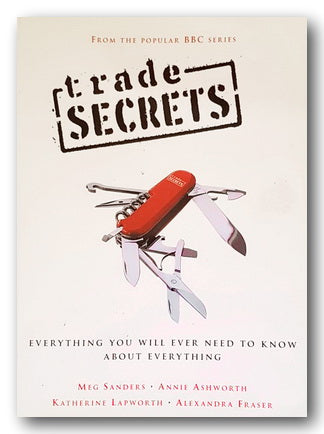 BBC - Trade Secrets (Everything You'll Ever Need To Know . . . ) (2nd Hand Paperback) | Campsie Books