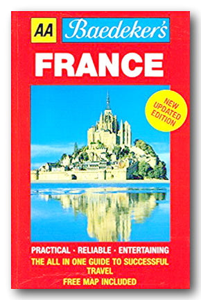 Baedeker's France (2nd Hand Paperback with PVC Cover) | Campsie Books