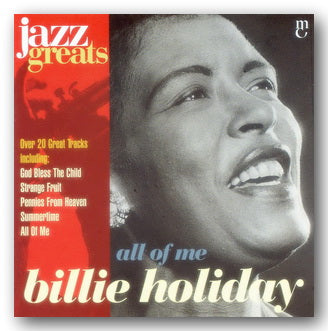 Billie Holiday - All of Me (Jazz Greats) (2nd Hand CD) | Campsie Books