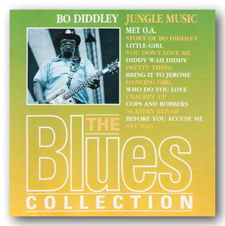Bo Diddley - Jungle Music (The Blues Collection) (2nd Hand CD) | Campsie Books