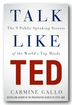 Carmine Gallo - Talk Like Ted (2nd Hand Paperback) | Campsie Books