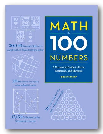 Colin Stuart - Maths in 100 Numbers (2nd Hand Hardback) | Campsie Books