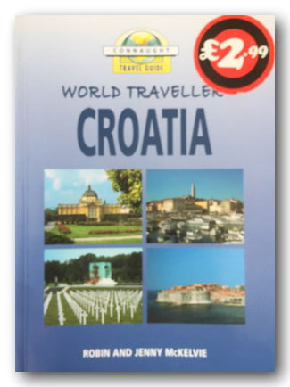 Connaught Travel Guide to Croatia (2nd Hand Softback) | Campsie Books