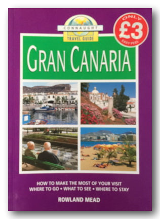 Connaught Travel Guide to Gran Canaria (2nd Hand Softback) | Campsie Books