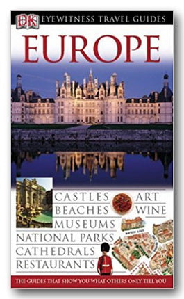 DK Eyewitness Travel Guide - Europe (2nd Hand Flexibound) | Campsie Books