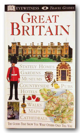 DK Eyewitness Travel Guide - Great Britain (2nd Hand Flexibound) | Campsie Books