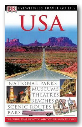DK Eyewitness Travel Guide - USA (2nd Hand Flexibound) | Campsie Books