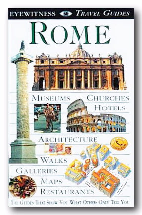 DK Eyewitness Travel Guide - Rome (2nd Hand Flexibound) | Campsie Books