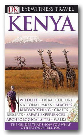 DK Eyewitness Travel Guide - Kenya (2nd Hand Flexibound) | Campsie Books