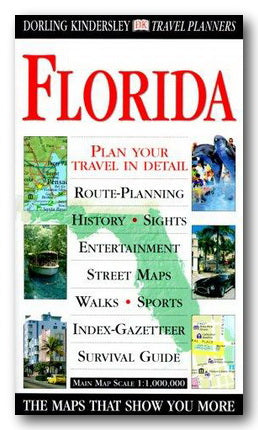 DK Travel Planner Map - Florida