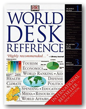 DK World Desk Reference (2nd Hand Softback) | Campsie Books