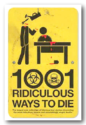 David Southwell & Matt Adams - 1001 Ridiculous Ways To Die