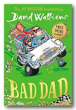 David Walliams - Bad Dad (2nd Hand Hardback) Campsie Books
