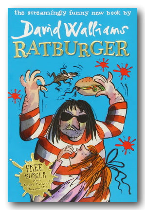 David Walliams - Ratburger (Choice of 2 options) | Campsie Books
