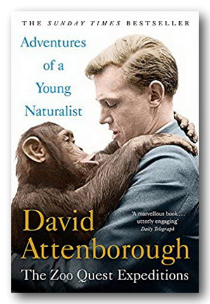 David Attenborough - Adventures of a Young Naturalist (2nd Hand Hardback) | Campsie Books