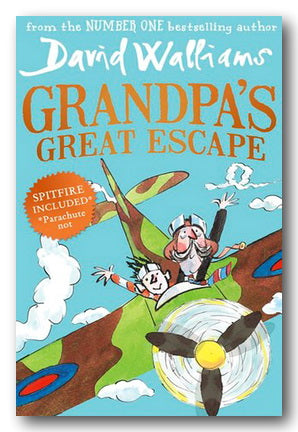 David Walliams - Grandpa's Great Escape (2nd Hand Paperback) | Campsie Books