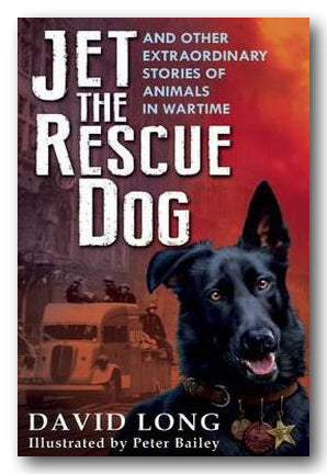 David Long - Jet The Rescue Dog (2nd Hand Paperback) | Campsie Books