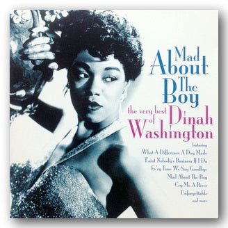 Dinah Washington - Mad About The Boy (The Very Best of Dinah Washington) (2nd Hand CD) | Campsie Books