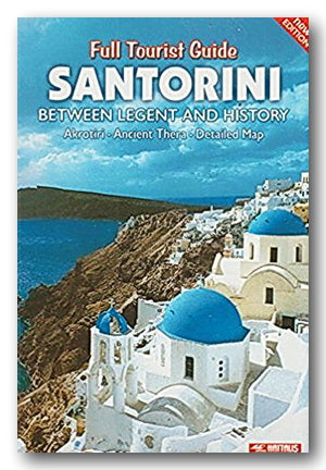 Haitaus - Full Tourist Guide Santorini (With Map) (2nd Hand Softback) | Campsie Books