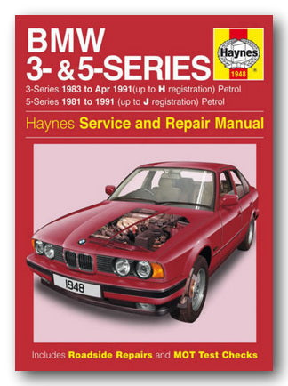 Haynes Service & Repair Manual - BMW 3 & 5 Series