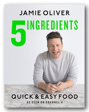 Jamie Oliver - 5 Ingredients (Quick & Easy Food) (2nd Hand Hardback) | Campsie Books