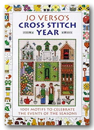 Jo Verso's Cross Stitch Year (1001 Seasonal Motifs) (2nd Hand Hardback) | Campsie Books