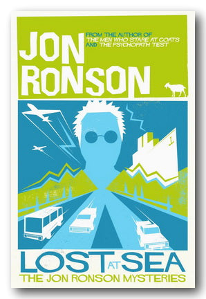 Jon Ronson - Lost at Sea (The Jon Ronson Mysteries) (2nd Hand Paperback)