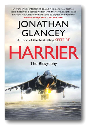Jonathan Glancey - Harrier (2nd Hand Paperback) | Campsie Books