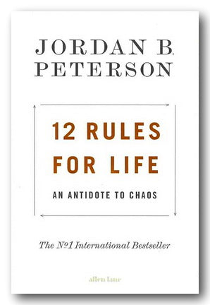 Jordan B. Peterson - 12 Rules For Life (2nd Hand Hardback) | Campsie Books