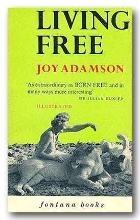Joy Adamson - Living Free (2nd Hand Paperback) | Campsie Books
