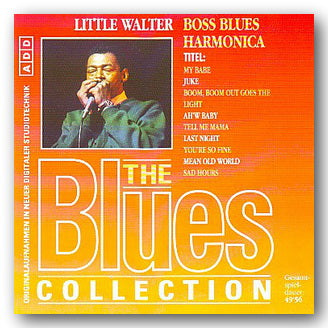Little Walter - Boss Blues Harmonica | Campsie Books