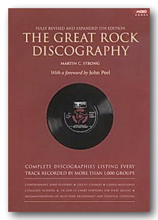 Martin C. Strong - The Great Rock Discography (5th Ed.) (2nd Hand Paperback) | Campsie Books