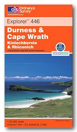 OS Explorer 446 - Durness & Cape Wrath, Kinlochbervie & Rhiconich