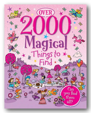 Over 2000 Magical Things To Find (2nd Hand Hardback) | Campsie Books