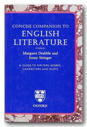 Oxford Concise Companion to English Literature (2nd Hand Hardback) | Campsie Books