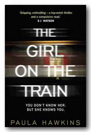 Paula Hawkins - The Girl on The Train (2nd Hand Hardback) | Campsie Books