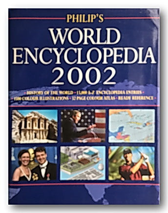 Philips World Encyclopedia 2002 (2nd Hand Hardback) | Campsie Books