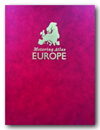 Philips Motoring Atlas of Europe 1991 (2nd Hand Hardback) | Campsie Books