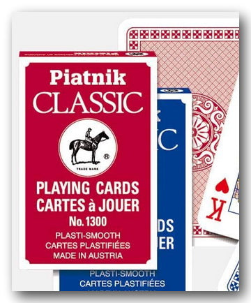 Piatnik Classic Playing Cards No' 1300 (New Toys & Games) | Campsie Books