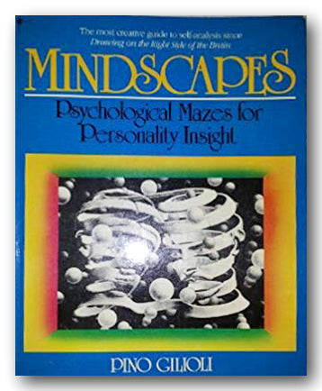 Pino Gilioli - Mindscapes (Psychological Mazes for Personality Insights) (2nd Hand Paperback) | Campsie Books