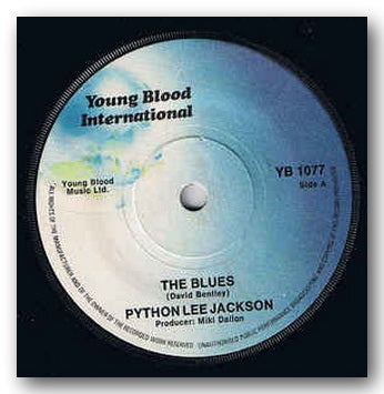 "Python Lee Jackson - The Blues / Cloud Nine (2nd Hand 7"" Single) 