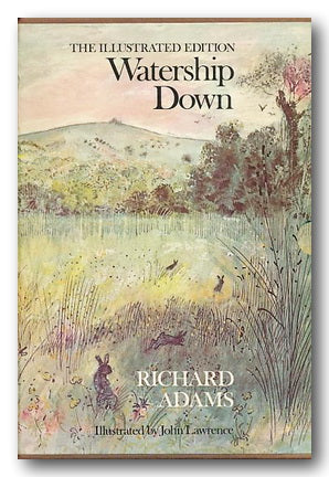 Richard Adams - Watership Down (The Illustrated Edition) (2nd Hand Hardback) | Campsie Books
