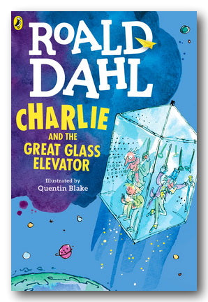 Roald Dahl - Charlie & The Great Glass Elevator (New Paperback)