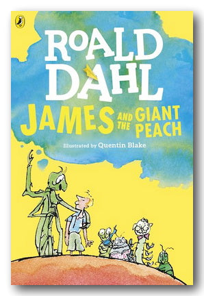 Roald Dahl - James & The Giant Peach (New Paperback) | Campsie Books