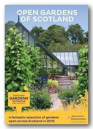 Scotland's Open Gardens Scheme, GuideBook 2019 (2nd Hand Flexibound) | Campsie Books