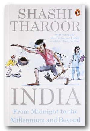 Shashi Tharoor - India : From Midnight to the Millennium & Beyond (2nd Hand Paperback) | Campsie Books