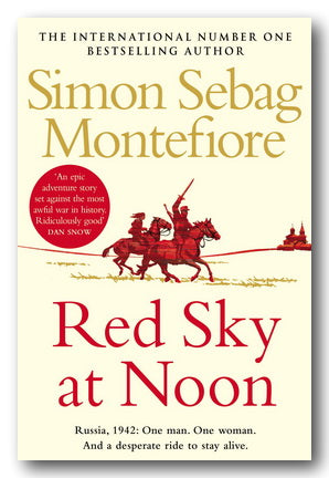 Simon Sebag Montefiore - Red Sky at Noon (2nd Hand Paperback) | Campsie Books